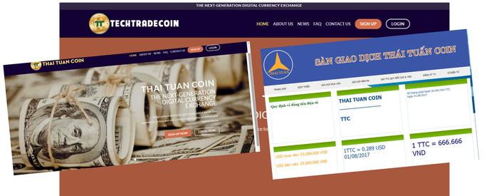 Mập mờ sàn tiền ảo thaituancoin - Ảnh 1.