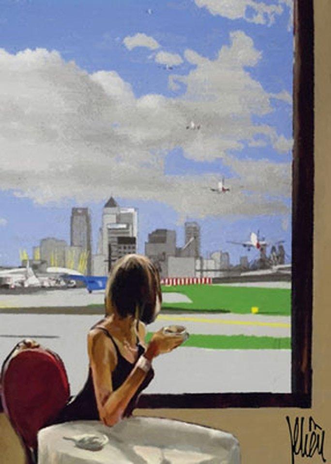 Cà phê sân bay - Ảnh 1.