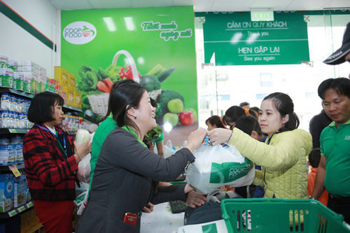 Mở 2 cửa hàng Co.op Food ở Hà Nội - Ảnh 1.