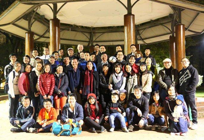 Đại sứ Lương Thanh Nghị trong sự kiện gặp gỡ tháng Năm tại Thủ đô Canberra của Hội sinh viên - Thanh niên Việt Nam tại Canberra