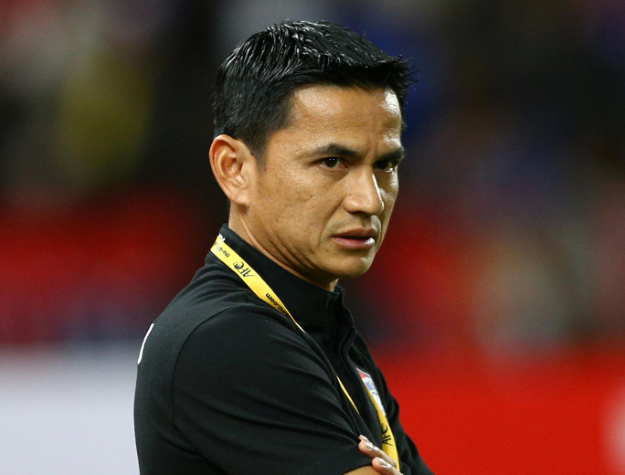 Kiatisuk thanh lý hợp đồng với LĐBĐ Thái Lan sau khi không thành công cùng tuyển Thái ở vòng loại thứ 3 World Cup 2018 khu vực châu Á Ảnh: REUTERS