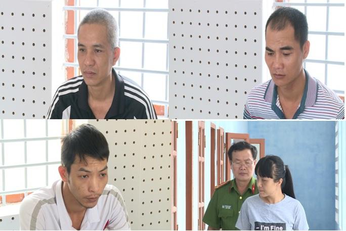 1 nữ, 3 nam chặn xe ô tô cướp 1 tỉ đồng  - Ảnh 1.