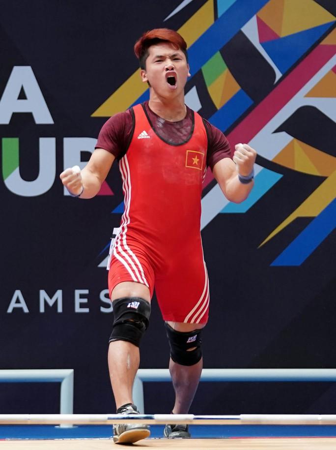 Đại hội Thể thao trong nhà và võ thuật châu Á 2017: Cử tạ lại có HCV, Tú Chinh giành HCB - Ảnh 1.
