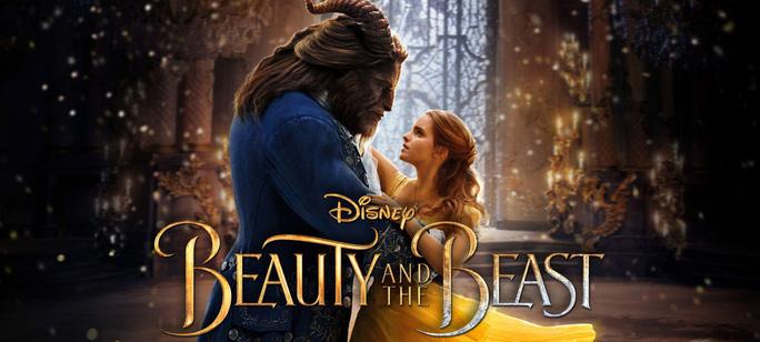 "Poster phim ""Beauty and the beast"" phiên bản 2017"