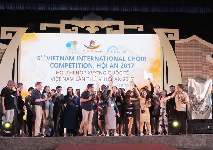 Philippines đoạt giải quán quân Hợp xướng quốc tế Hội An 2017 - Ảnh 1.