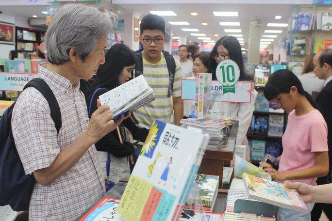 Tuần lễ triển lãm sách Nhật Bản tại TP HCM - Ảnh 1.