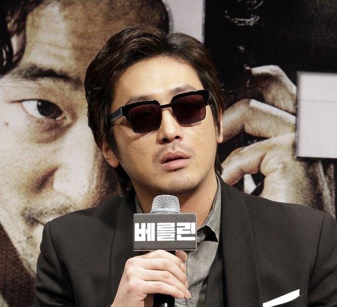 Nam diễn viên Ha Jung Woo Ảnh: TAIWAN NEWS
