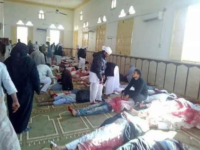 Ai Cập không kích khủng bố trả đũa vụ thảm sát - Ảnh 2.