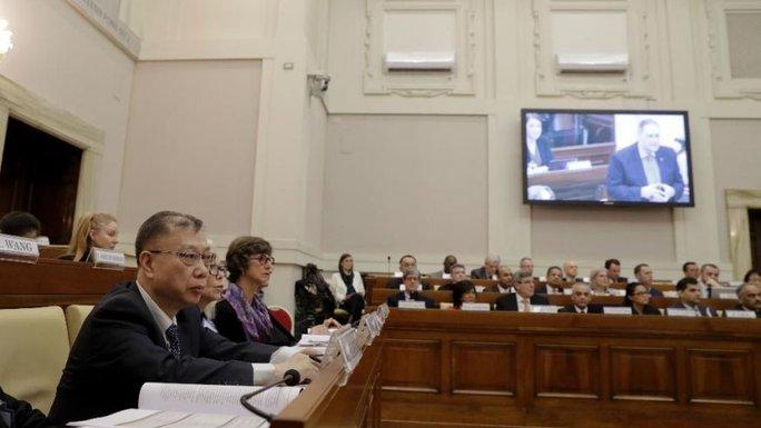 Hội nghị ghép tạng tại Vatican hôm 7-2. Ảnh: Graffiotech
