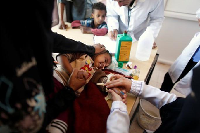 Thảm họa nhân đạo tại Yemen - Ảnh 1.