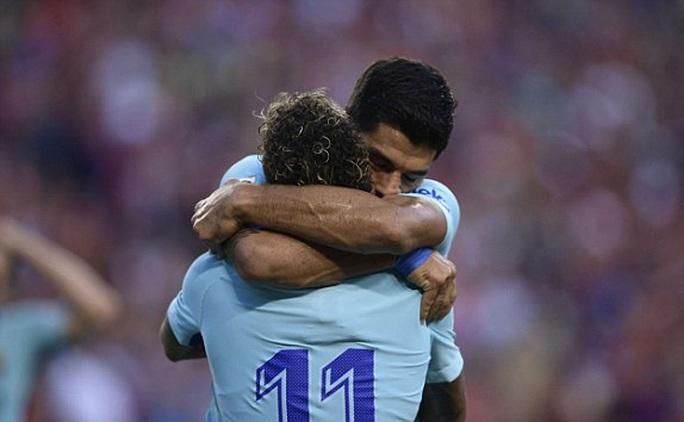 Barcelona - M.U 1-0: Mourinho chưa thể hóa giải Messi - Ảnh 3.