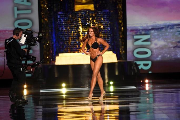 Cận cảnh nhan sắc Hoa hậu Mỹ 2018 - Ảnh 9.