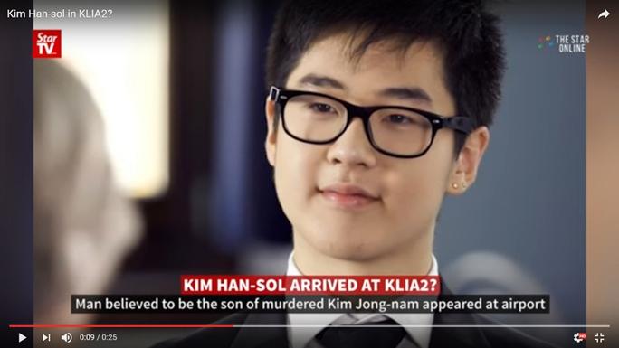 Nghi vấn Kim Han-sol đáp xuống sân bay KLIA2 nhận được sự chú ý. Ảnh: Asiaone