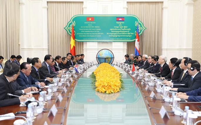 Việt Nam - Campuchia hợp tác toàn diện - Ảnh 1.