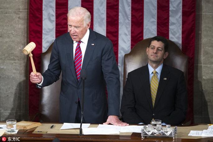 Phó Tổng thống Mỹ Joe Biden công nhận ông Donald Trump thắng cử tổng thống MỹẢnh: CHINA DAILY
