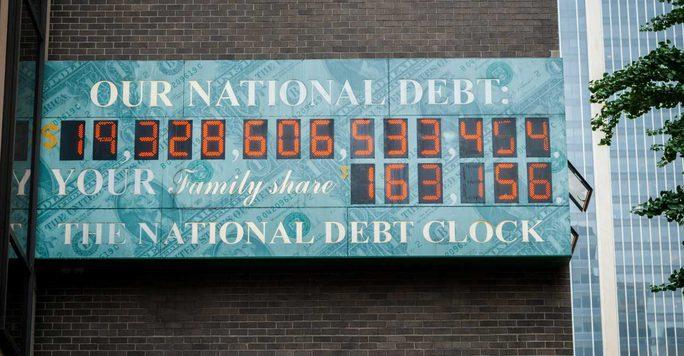 Nợ công Mỹ tăng liên tiếp trong... 60 năm - Ảnh 1.
