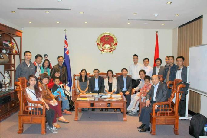Đại sứ Lương Thanh Nghị gặp gỡ đại diện sinh viên Việt Nam tại Tây Úc
