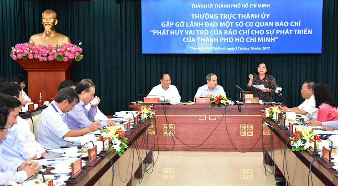 TP HCM: Đặt hàng các quận, huyện xử lý vấn đề báo chí nêu - Ảnh 2.