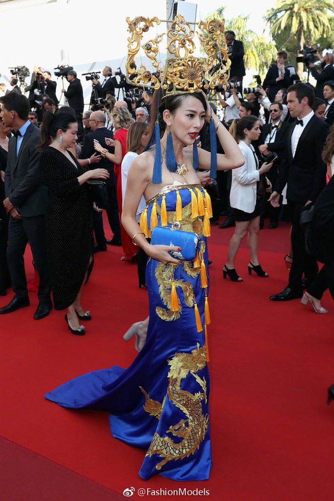 Phạm Băng Băng diện đầm xuyên thấu dự bế mạc LHP Cannes - Ảnh 13.