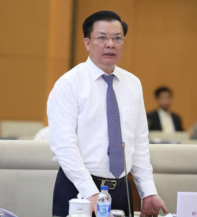 Bộ trưởng Tài chính Đinh Tiến Dũng - Ảnh: Nguyễn Nam