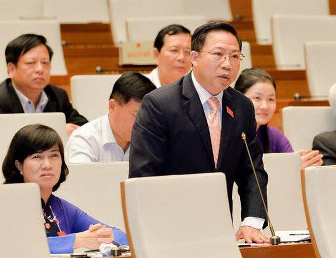 Đại biểu QH Lưu Bình Nhưỡng phát biểu