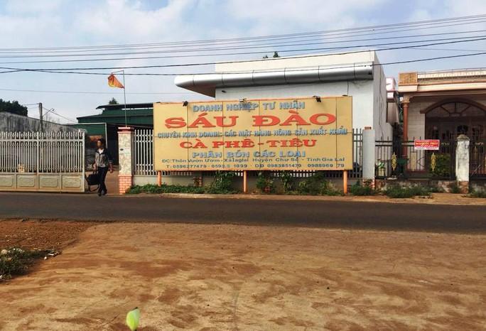 Cơ sở thu mua nông sản Sáu Đào