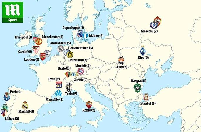 Sơ đồ Ronaldo đã gieo rắc kinh hoàng cho các đội bóng khắp châu Âu