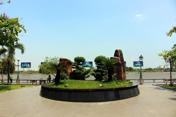 Những mô hình xanh, tiểu cảnh được ông Thuận là những hạng mục được ông Thuận khuyến khích thêm vào trong đề án.
