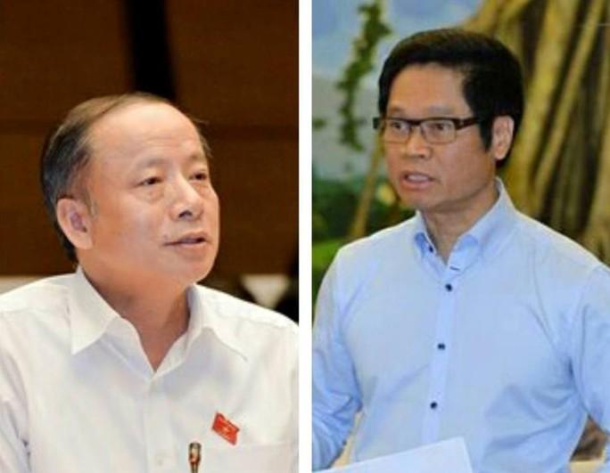 Chủ tịch VINASME Nguyễn Văn Thân (trái) và Chủ tịch VCCI Vũ Tiến Lộc