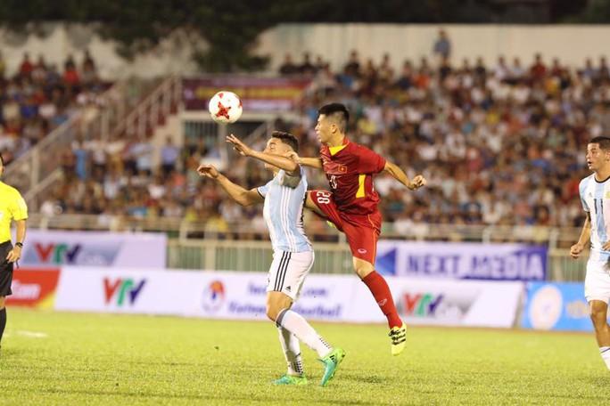 U20 Việt Nam - Argentina 1-4: Đức Chinh ghi bàn danh dự - Ảnh 5.