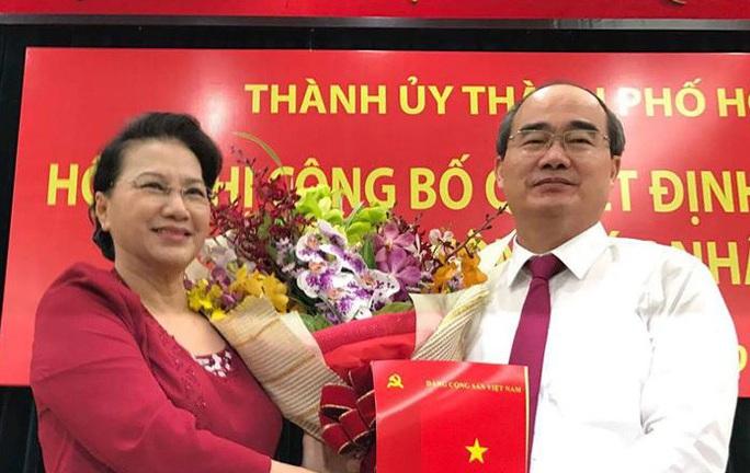 Tiểu sử của Tân Bí thư Thành ủy Nguyễn Thiện Nhân - Ảnh 1.