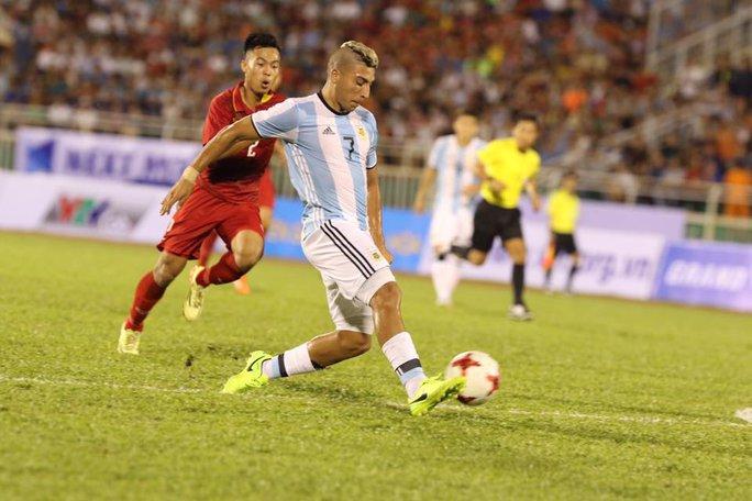 U20 Việt Nam - Argentina 1-4: Đức Chinh ghi bàn danh dự - Ảnh 4.