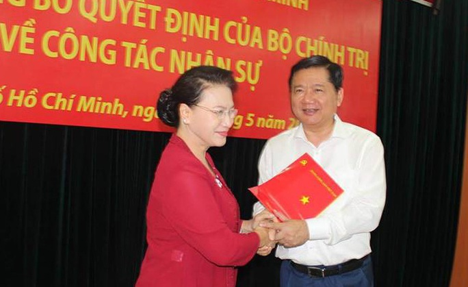 Ông Đinh La Thăng làm Phó trưởng Ban Kinh tế Trung ương - Ảnh 1.