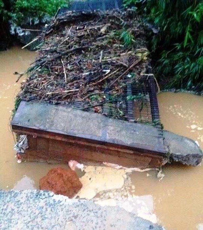 Lâm Đồng: Sập cầu trong đêm, hàng chục hộ dân bị chia cắt - Ảnh 3.