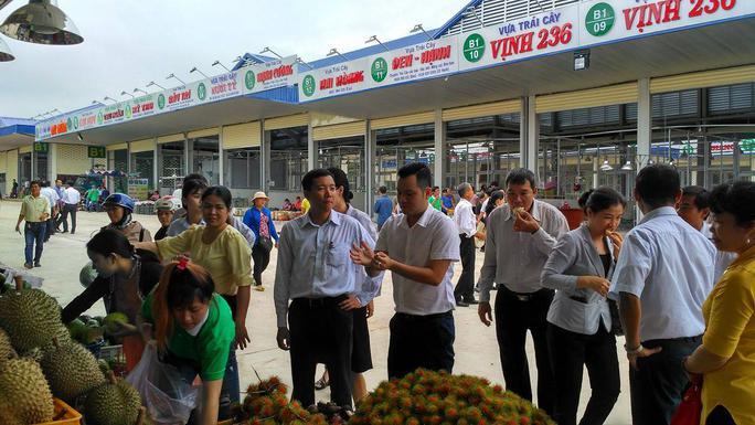 Chợ đầu mối nông sản lớn nhất Đồng Nai đi vào hoạt động - Ảnh 1.