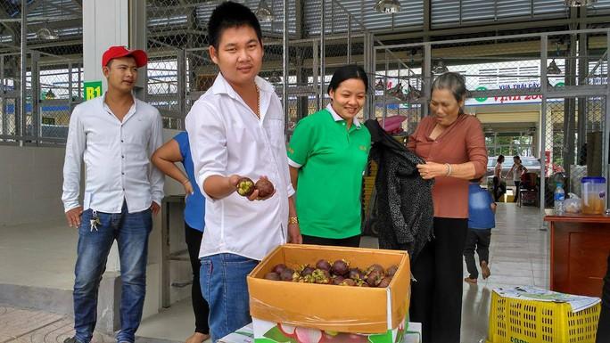 Chợ đầu mối nông sản lớn nhất Đồng Nai đi vào hoạt động - Ảnh 4.
