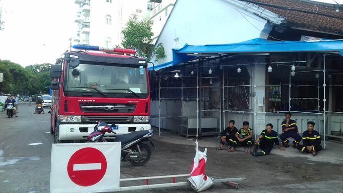 CLIP: Cảnh hoang tàn sau vụ cháy kinh hoàng ở chợ đêm Phú Quốc - Ảnh 6.