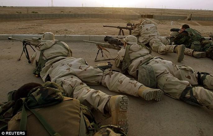 Loại đạn mới giúp lính bắn tỉa Mỹ tăng cường độ chính xác trong điều kiện môi trường bất lợi. Ảnh: REUTERS