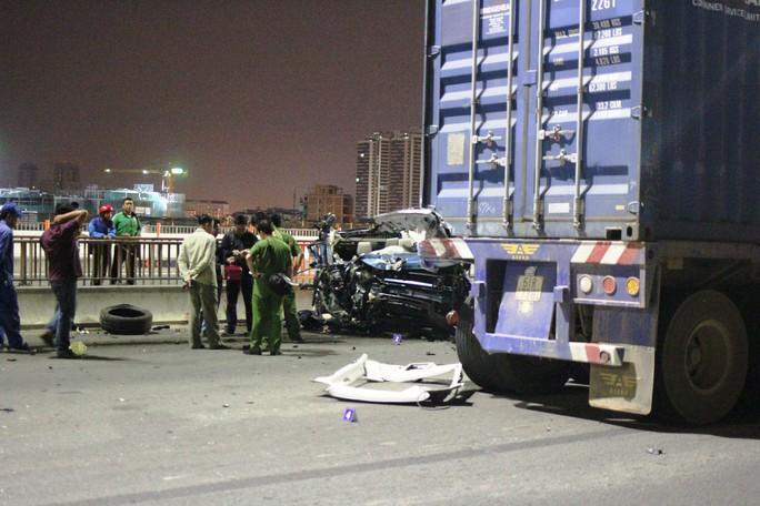 Hiện trường vụ tai nạn (Ảnh: Gia Minh)