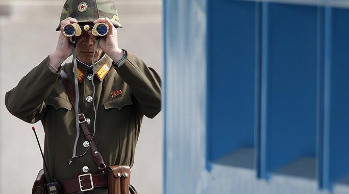 Một binh sĩ Triều Tiên. Ảnh: REUTERS
