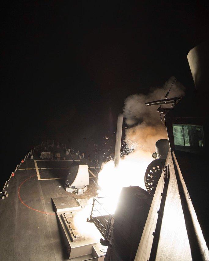 Nga: Chỉ 40% số Tomahawk của Mỹ bắn trúng mục tiêu ở Syria