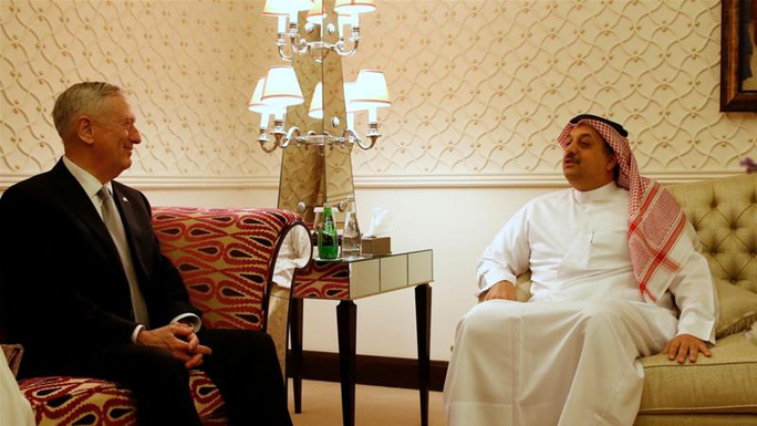 Qatar chi 12 tỉ USD mua chiến đấu cơ Mỹ - Ảnh 1.