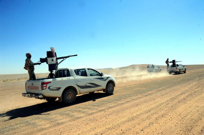 IS dùng UAV tấn công đặc nhiệm Mỹ ở Syria - Ảnh 2.