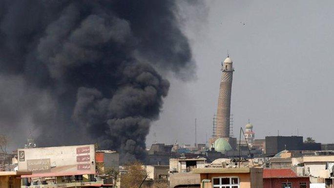 """IS phá hủy nơi tuyên bố lập """"Vương quốc Hồi giáo"""" - Ảnh 3."""