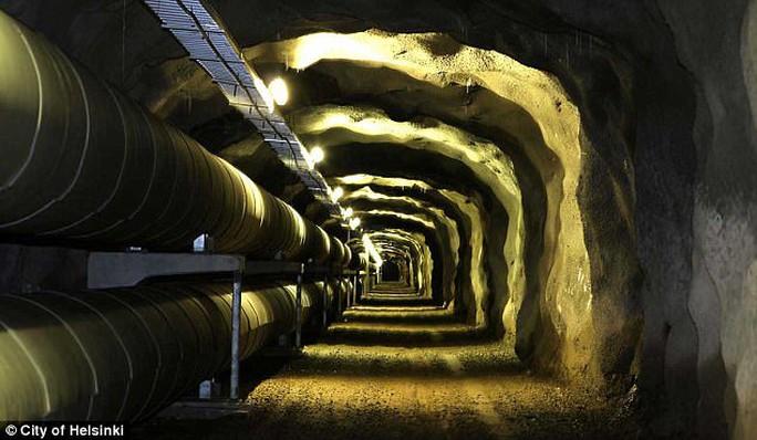 Đề phòng Nga, Phần Lan nâng cấp đường hầm bên dưới thủ đô - Ảnh 4.