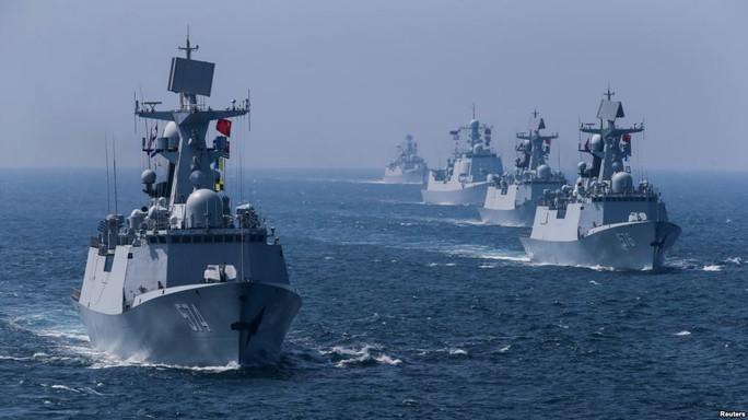 Anh, Hà Lan và Đan Mạch theo sát tàu Trung Quốc  - Ảnh 2.