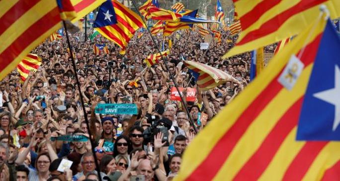 Tây Ban Nha: Nghị viện Catalonia tuyên bố độc lập - Ảnh 2.