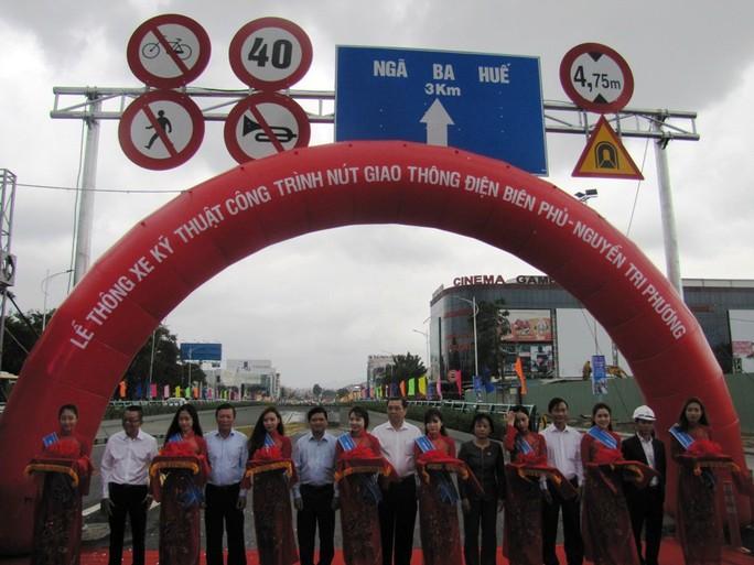 Đà Nẵng: Thông xe kỹ thuật hầm chui Điện Biên Phủ - Nguyễn Tri Phương - Ảnh 1.