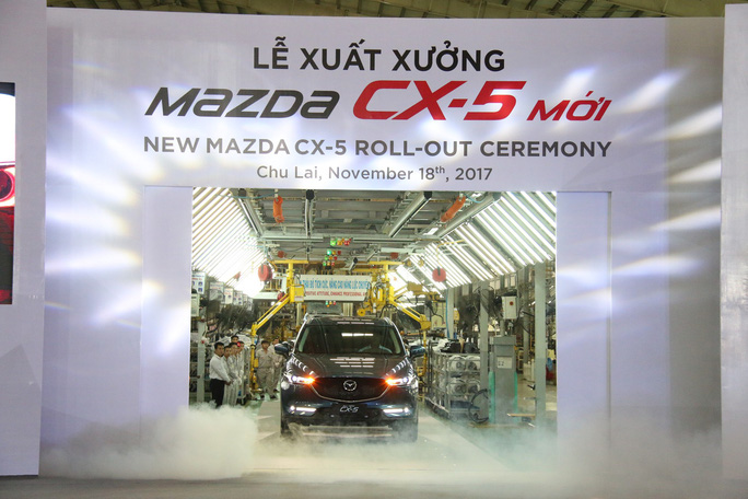 Thaco ra mắt ô tô Mazda CX5 mới giá từ 859 triệu đồng - Ảnh 1.