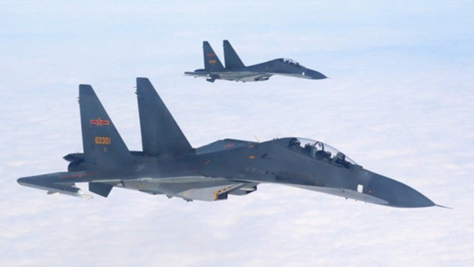 Trung Quốc gây sức ép quân sự lên Đài Loan - Ảnh 1.